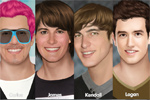 igrice za decu Big Time Rush Makeover