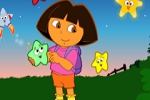 igrice za decu Dora The Explorer - Star Catching