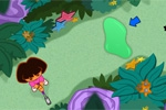 igrice za decu Dora's Star Mountain Mini-Golf!