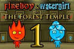 avanture Fireboy & Watergirl in The Forest Temple