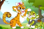 mobilne igrice Mommy and Baby Tiger