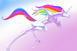 arkadne igrice Robot Unicorn Attack