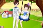mobilne igrice Romantic Spring Couple