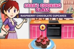 mobilne igrice Sara's Cooking Class: Raspberry Chocolate Cupcakes