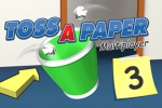 mobilne igrice Toss a Paper Multiplayer