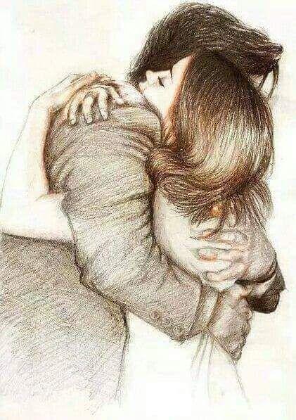 Jedan zagrljaj vrijedi više od hiljadu napisanih slova, hiljadu izgovorenih reči, samo jedan zagrljaj