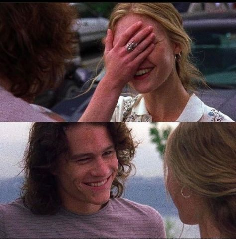 You are so... -Charming. ღ #10thingsihateaboutyou #teenromanticcomedy #1999 #ღ
