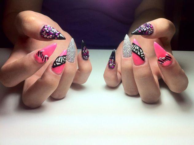 Moji noktici- My nails <3