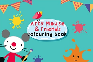 rty Mouse & Friends: Coloring Book