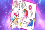 Fabulous Cute Unicorn: Coloring Book