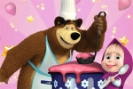 Masha & Bear: Cooking Dash