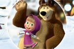 igrice za decu Masha and the Bear: Hidden Objects