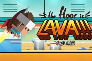 The Floor is Lava!!! Online