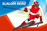 mobilne igrice Winter Sports: Slalom Hero